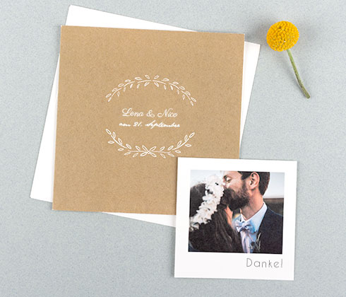 Personalisierte Hochzeitseinladungen - Atelier Rosemood