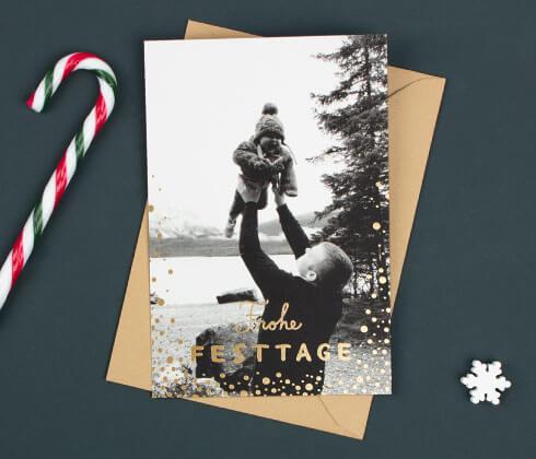 Personalisierte Weihnachtskarten - Atelier Rosemood