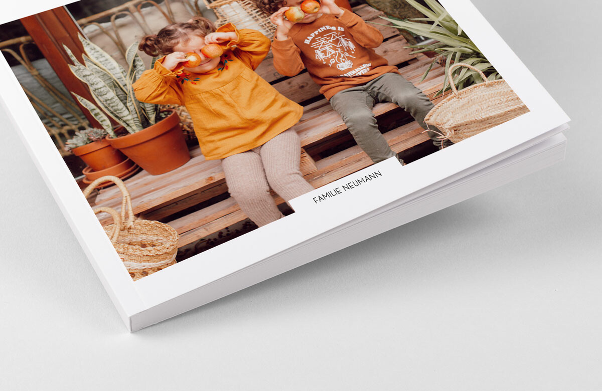 Exklusives Fotobuch mit Softcover
