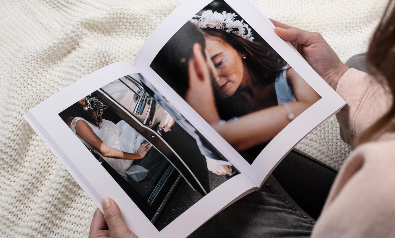 Schönes Fotobuch als Erinnerungsstück