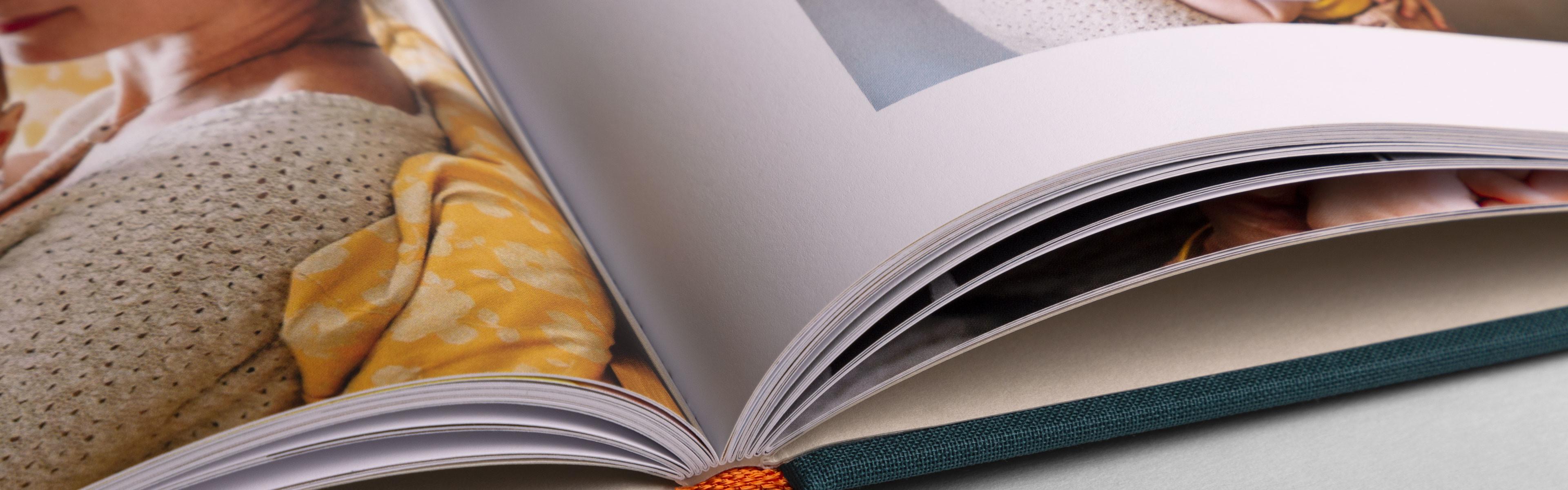 Hochwertiges Fotobuch mit Hardcover