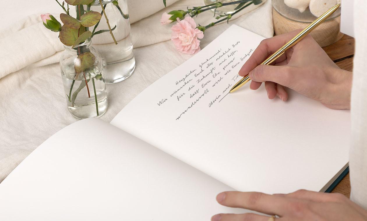 Das perfekte Gästebuch für Ihre Hochzeit