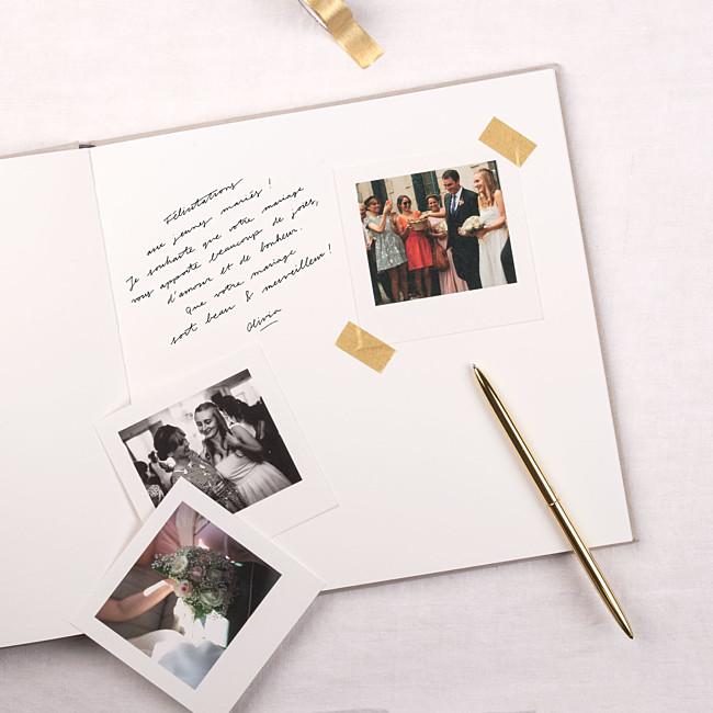 Personalisiertes Gâstebuch Hochzeit