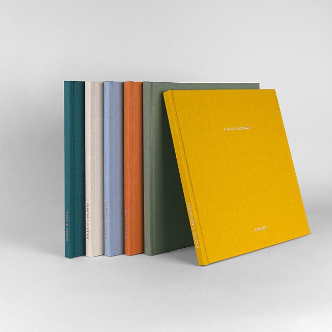 Hardcover-Fotobuch mit Stoffeinband von Atelier Rosemood