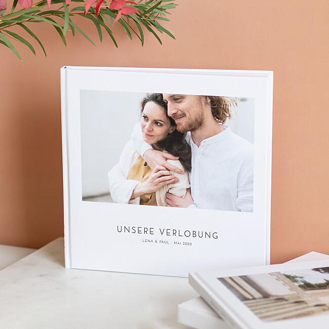 Hardcover-Fotobuch mit hochwertigem Einband