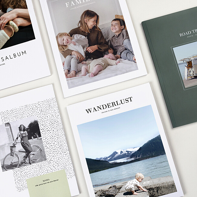 Fotobücher mit schönen Designs