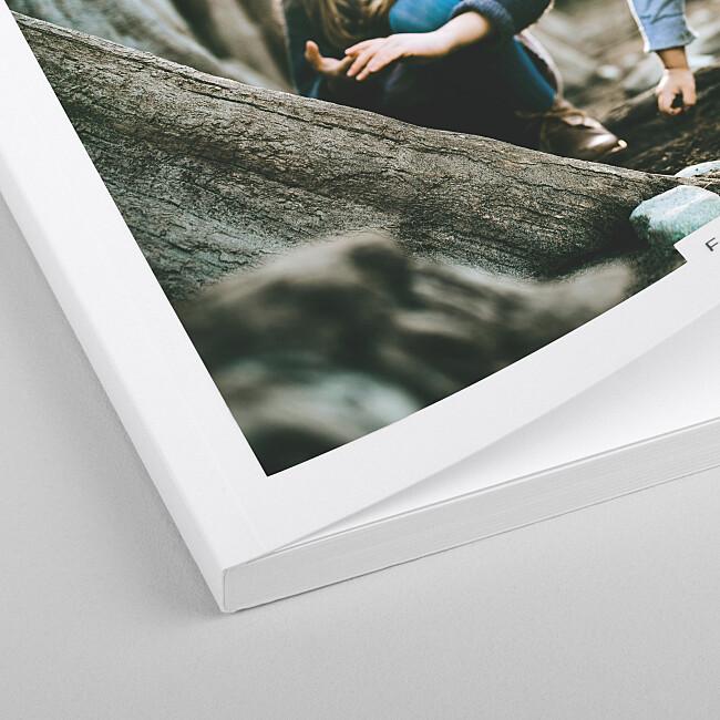 Softcover Fotobuch hochwertig verarbeitet