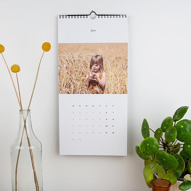 Fotokalender für die Wand