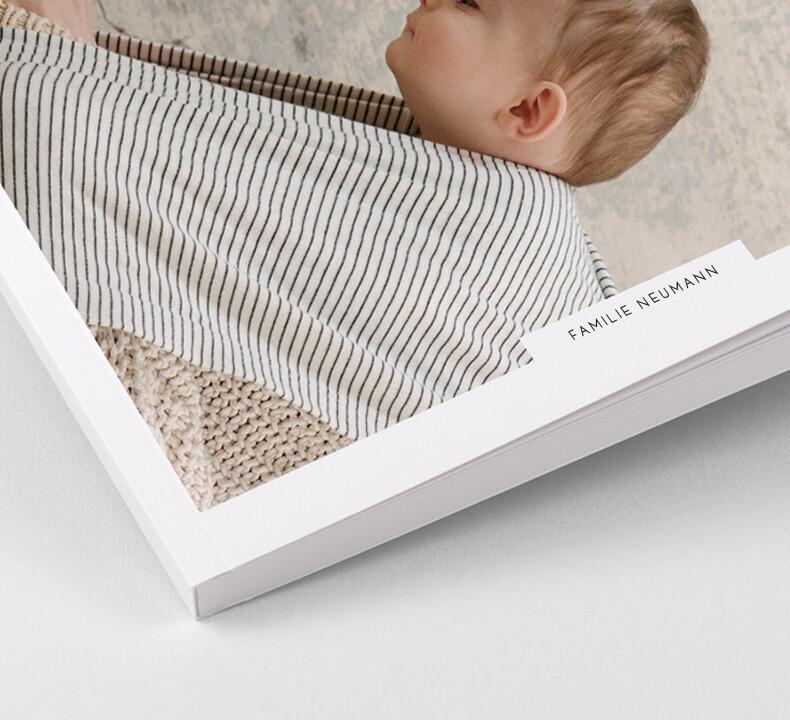 Fotobuch Softcover Geburt