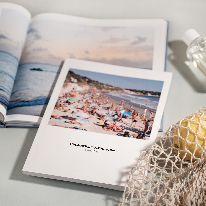 Fotobuch Urlaub mit Softcover