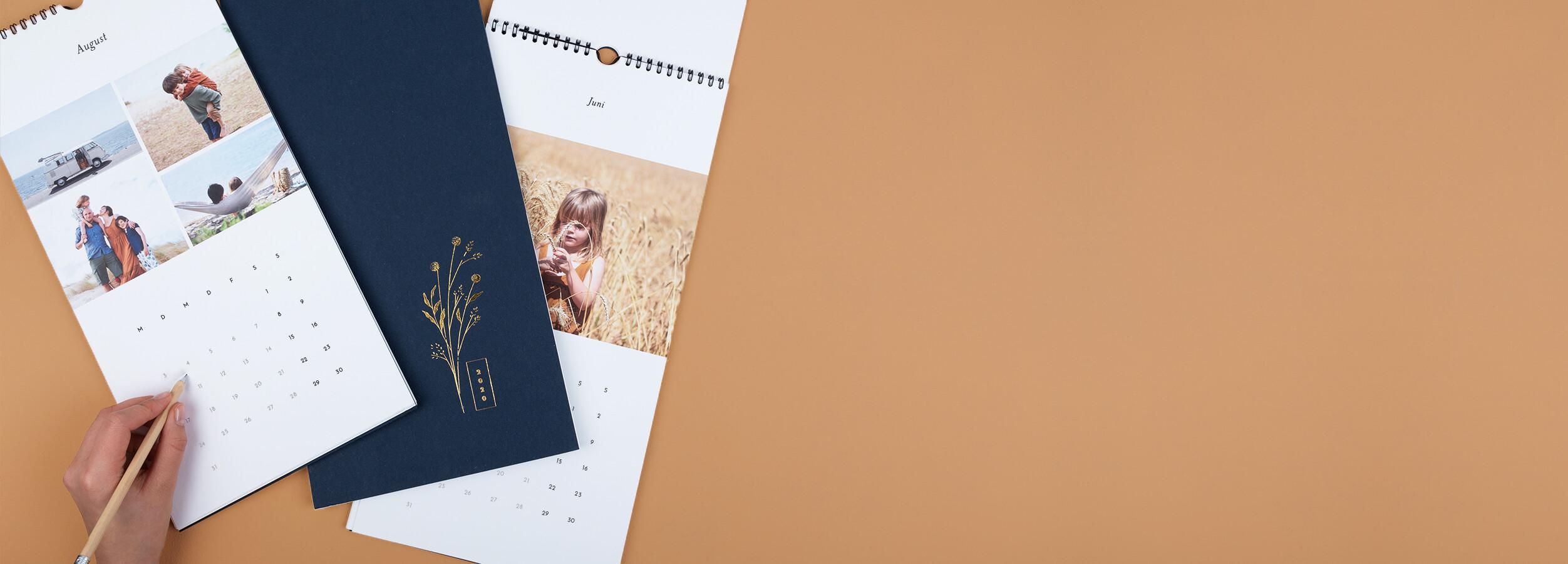 Personalisierbare Fotokalender