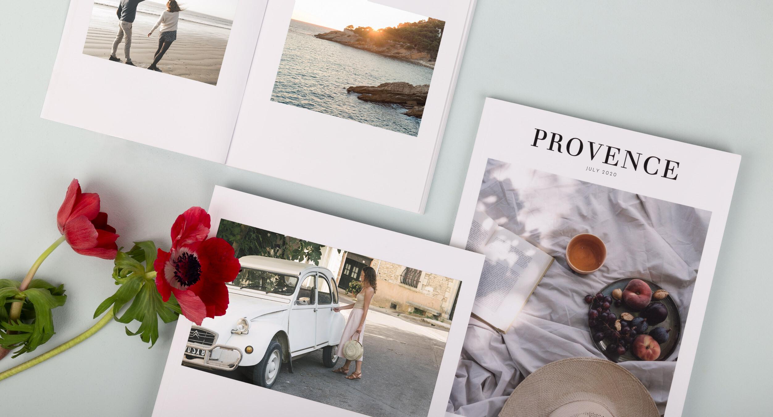 Fotobuch Flitterwochen von Rosemood