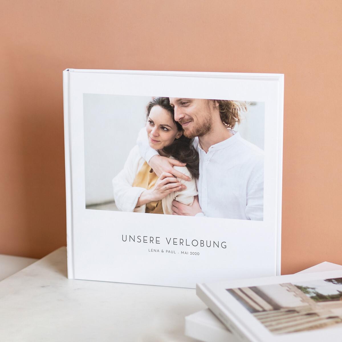 Hochwertiges Fotobuch Verlobung