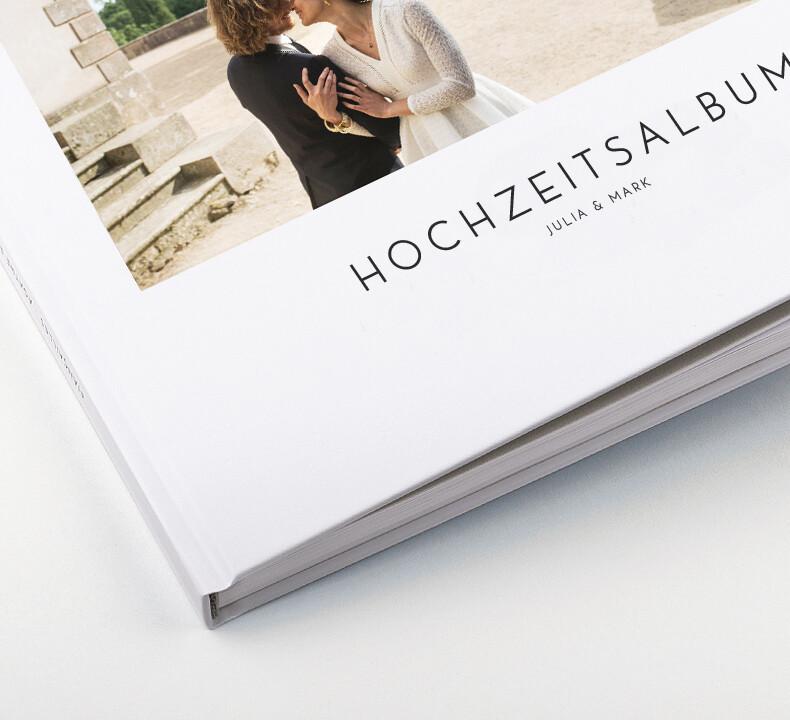 Hochwertige Hardcover-Fotobücher