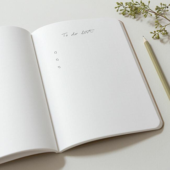 Notizbuch gestalten