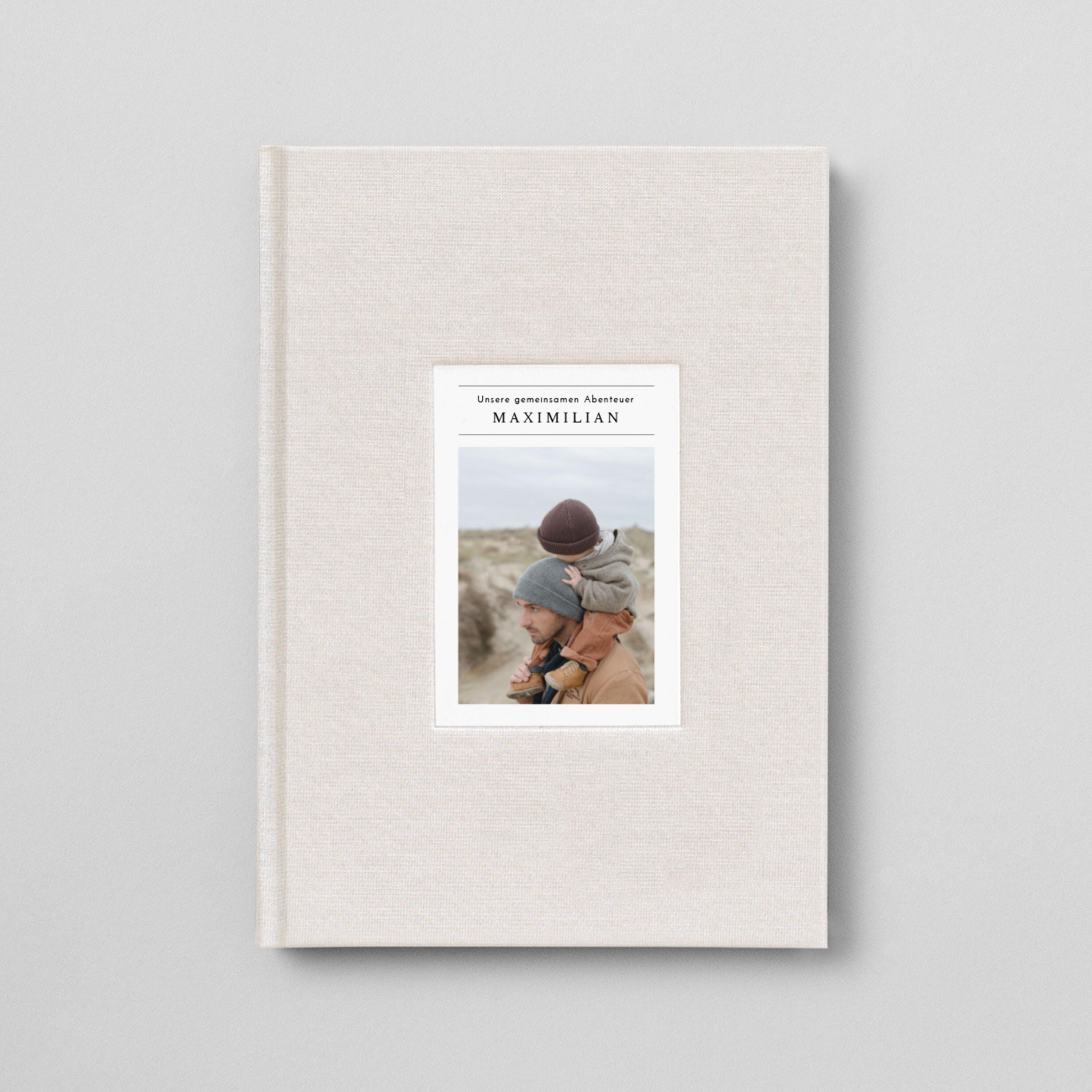Notizbuch Stoffeinband Foto