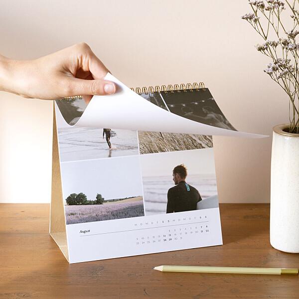 Tischkalender zum Aufstellen