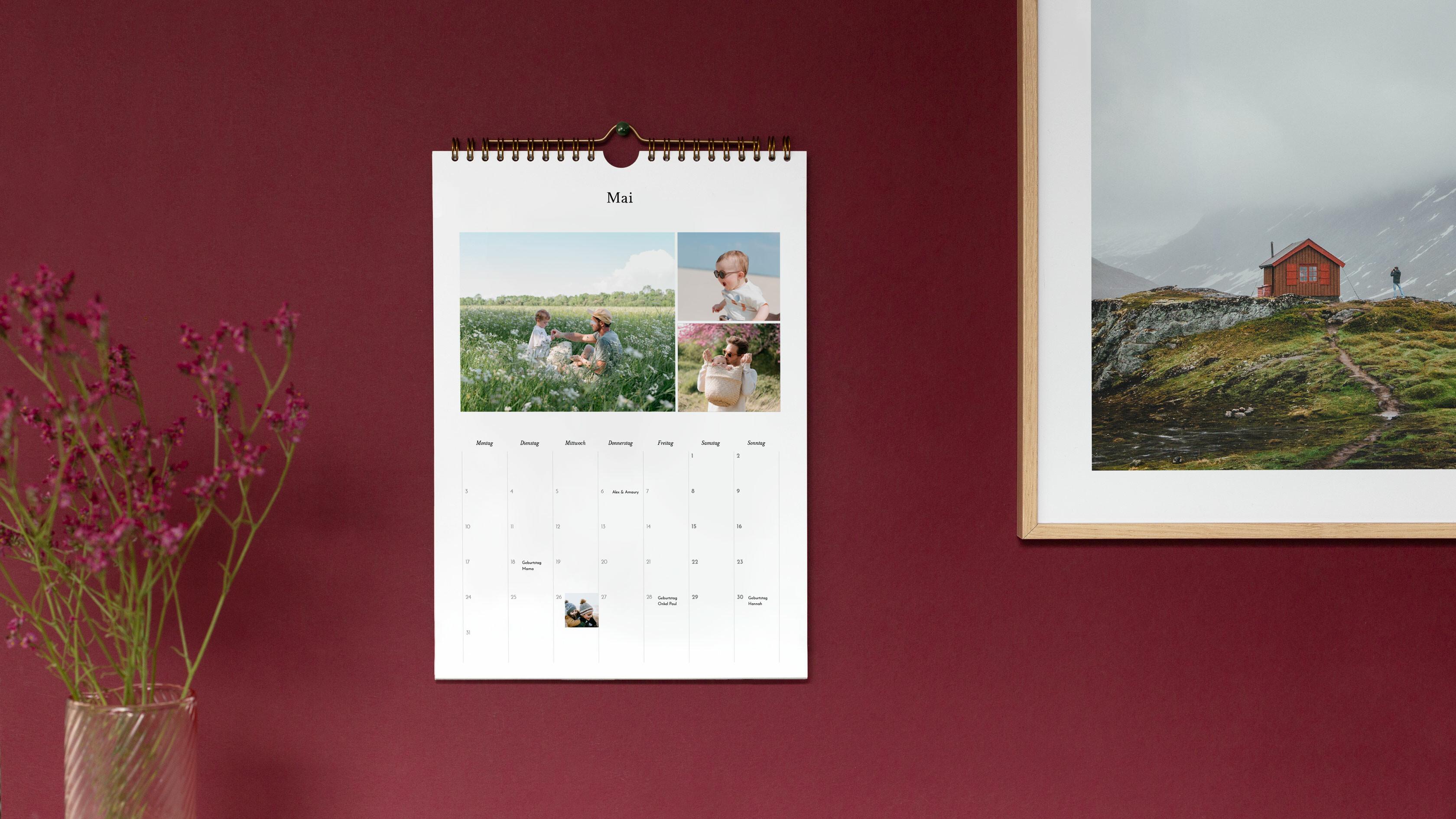 Personalisierbarer Terminkalender