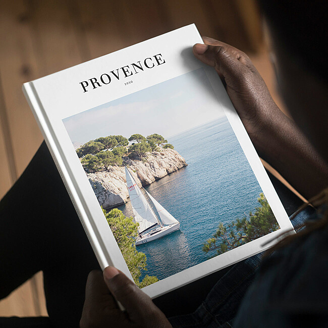 Fotobuch in modernem Design