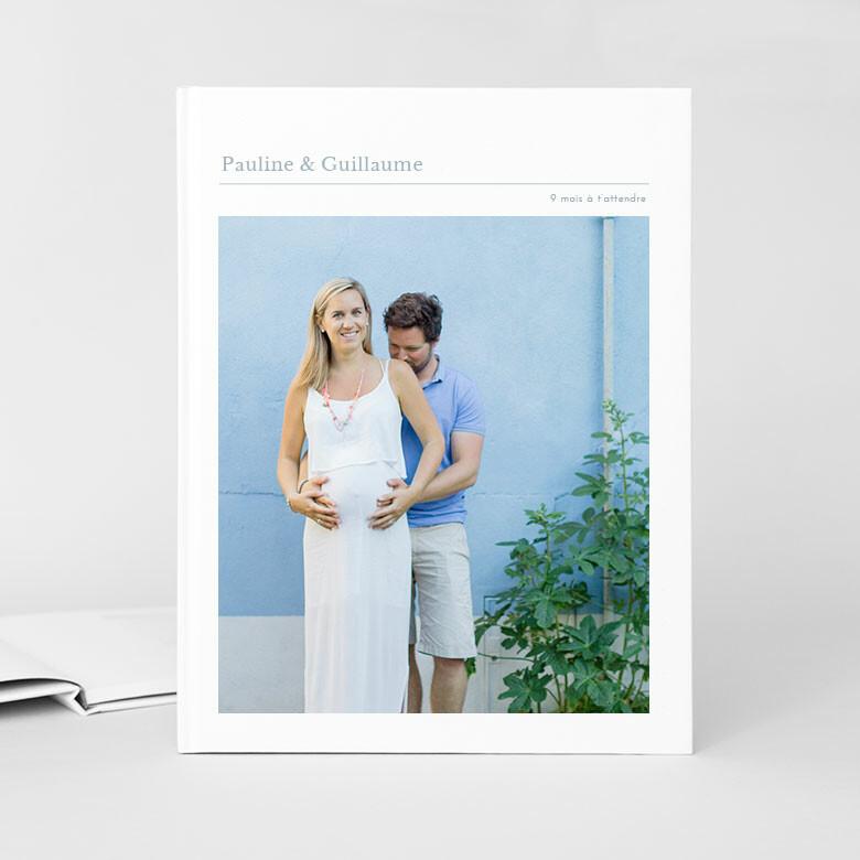 Hardcover-Fotobuch Schwangerschaft Rosemood