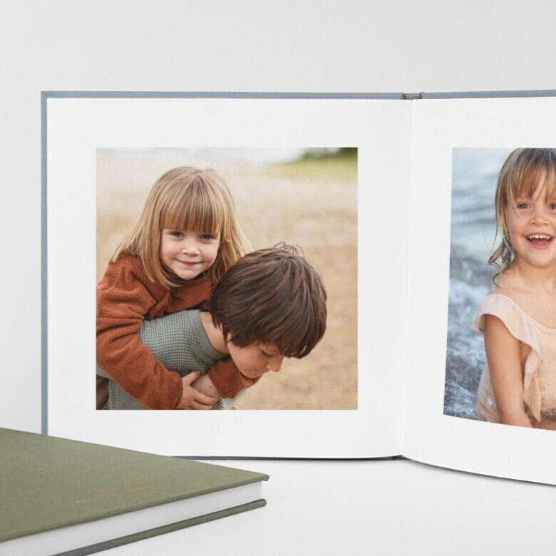 Fotobuch Stoffeinband Muttertag