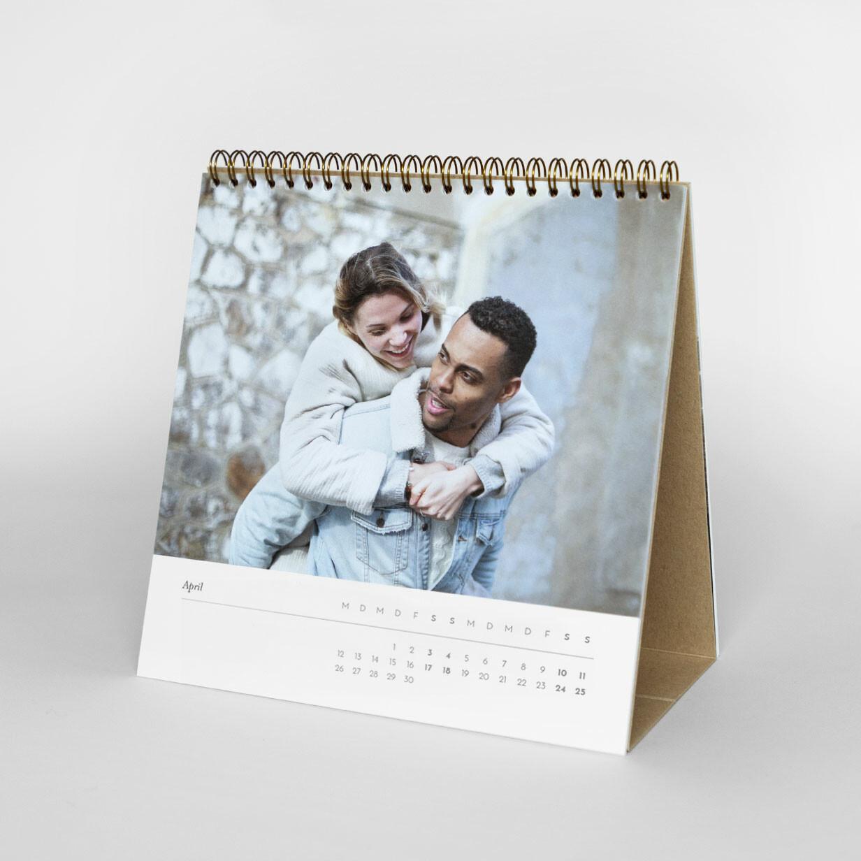 Tischkalender Rosemood