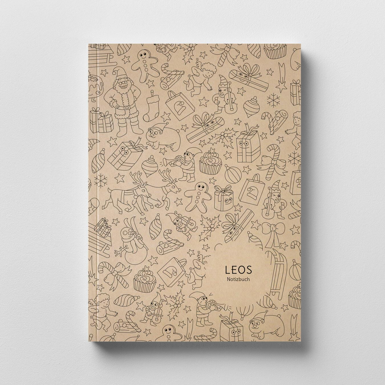Notizbuch zum Ausmalen
