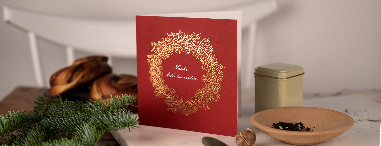 Weihnachtskarten geschäftlich