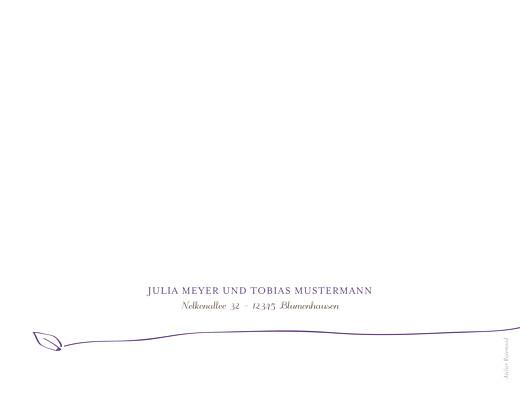 Hochzeitseinladungen Vöglein violett - Seite 4