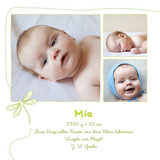 Geburtskarten Libelle frühlingsgrün - Seite 2