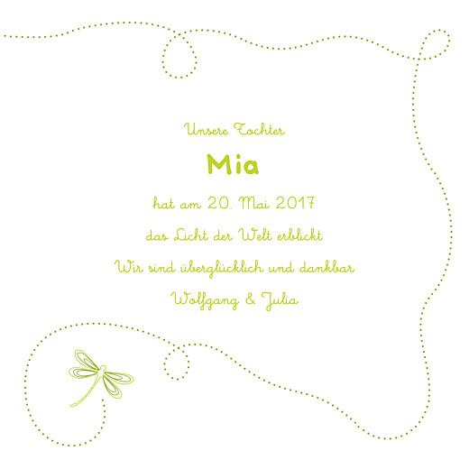 Geburtskarten Libelle frühlingsgrün - Seite 3
