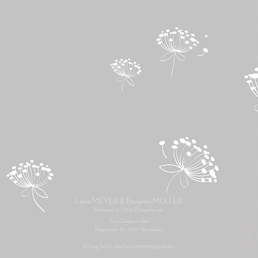 Hochzeitseinladungen Höhenflug grau - Seite 4