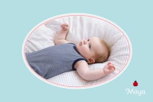 Geburtskarte Marienkäfer blau