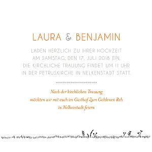 Hochzeitseinladung Hochzeitskarte Zu Gestalten Vom Atelier Rosemood