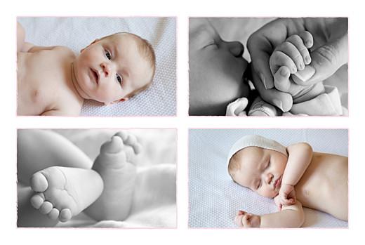Geburtskarten Pferdchen 4 fotos zartrosa - Seite 2