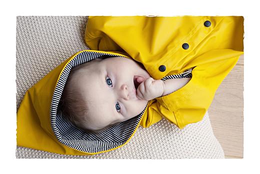 Geburtskarten Stiefel 2 kinder beige & gelb - Seite 2