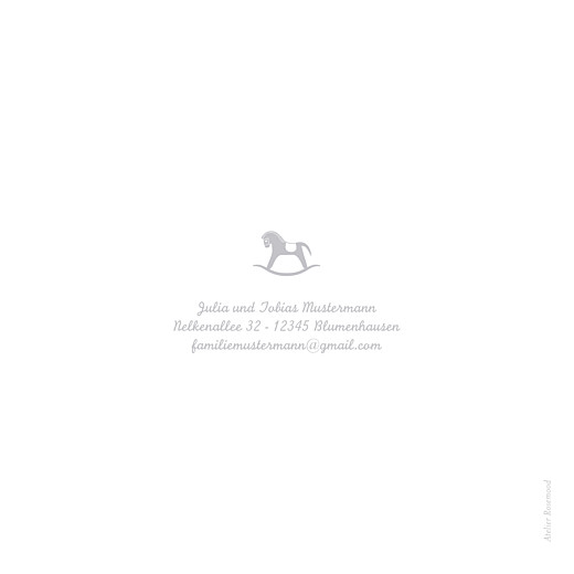 Geburtskarten Treues pferdchen grau - Seite 4