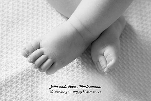 Geburtskarten Doppelgänger weiss - Seite 2