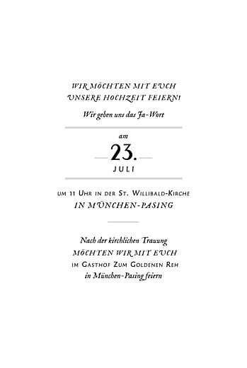 Hochzeitseinladungen Blütenzauber weiss - Seite 3