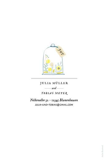 Hochzeitseinladungen Blütenzauber weiss - Seite 4