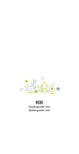 Menükarte Blütenzauber altrosa - Seite 2