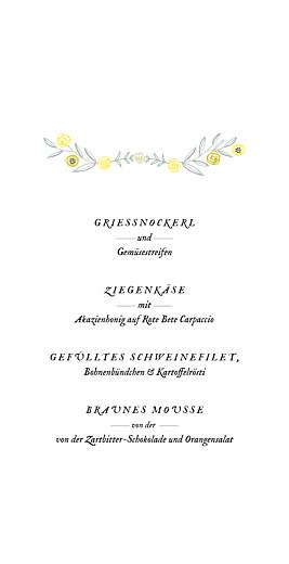Menükarte Blütenzauber altrosa - Seite 3