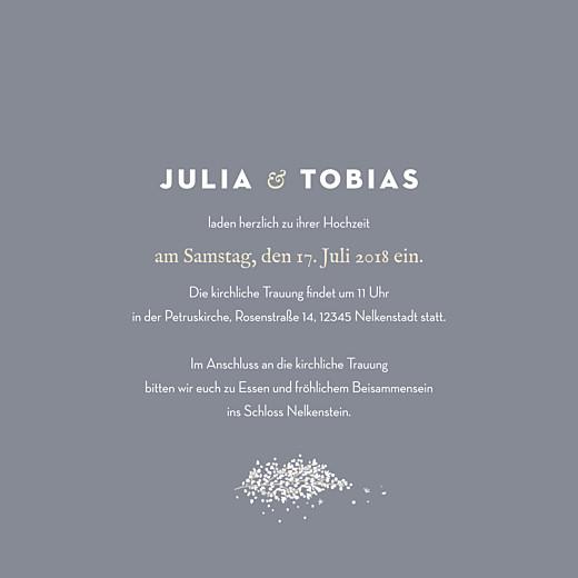 Hochzeitseinladungen Schleier grau - Seite 3