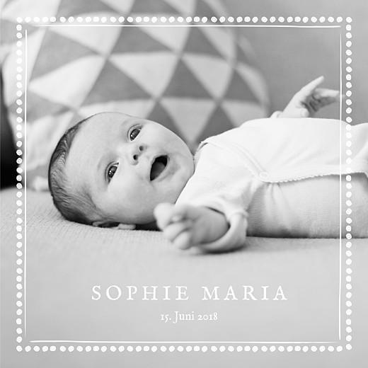 Geburtskarten Mein schatz 3 fotos weiss