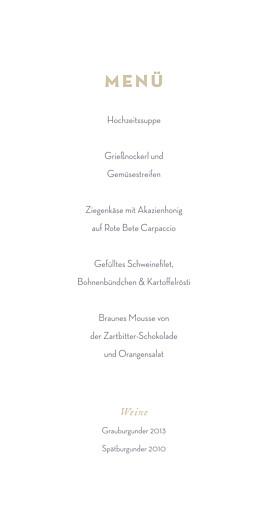 Menükarte Schleier grau - Seite 3