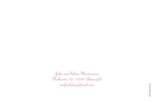Taufeinladungen Taube rosa - Seite 4