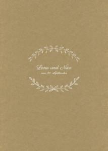 Kirchenheft Hochzeit Lyrik sand