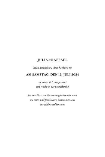 Hochzeitseinladungen Einzigartig weiß - Seite 3