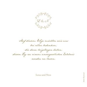 Dankeskarten Hochzeit Lyrik sand