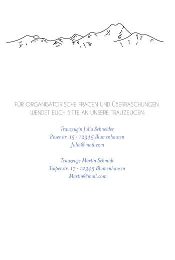 Hochzeitseinladungen Winterhochzeit weiß - Seite 2